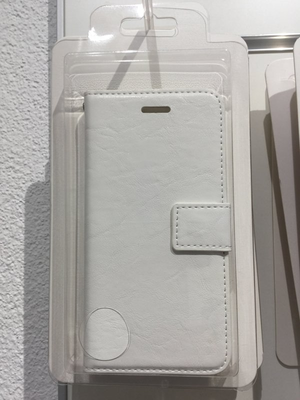 iPhone 7 / 8 Hülle Etui weiss