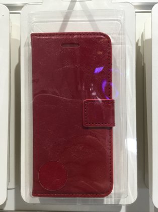 iPhone 6 / 6S Hülle Etui rot