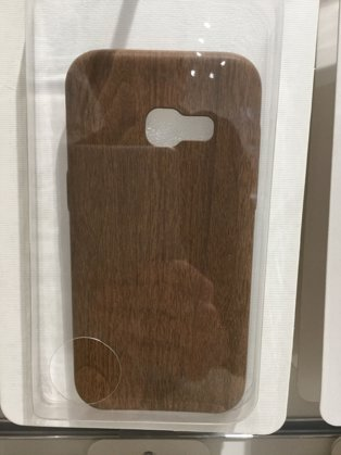 Galaxy A3 (2017) Hülle  Holz Hard Case
